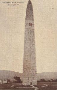 BENNINGTON, Vermont, 1900-1910s; Bennington Battle Monument