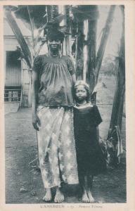 CAMEROUN- Femme Tchang, 1910s