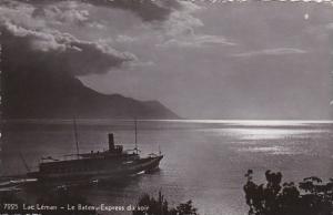 Switzerland Lausanne Lac Leman Le Bateau-Express du soir Photo