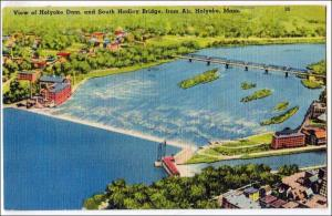Holyoke Dam & South Hadley Bridge, Holyoke MA