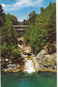 Sentinel Pine Bridge At Flume Franconia Notch White Mountains New Hampshire