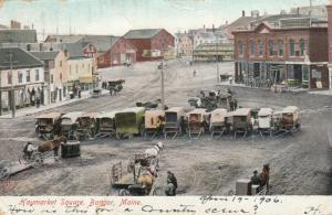 BANGOR , Maine , PU-1906 ; Haymarket Square