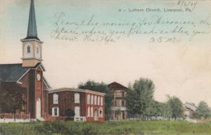 LIVERPOOL ,Pennsylvania , PU-1907; Lutheran Church
