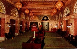 Illinois Chicago Congress Hotel and Annex Main Lobby 1910