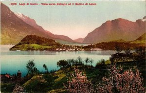 CPA Lago di Como Vista verso Bellagio . ITALY (498730)