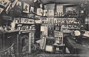 Advertising Post Card Charles Dicken's Old Curiosity Shop London, Englan...
