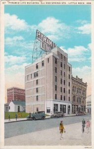 Arkansas Little Rock Pyramid Life Building 2nd And Spring Streets