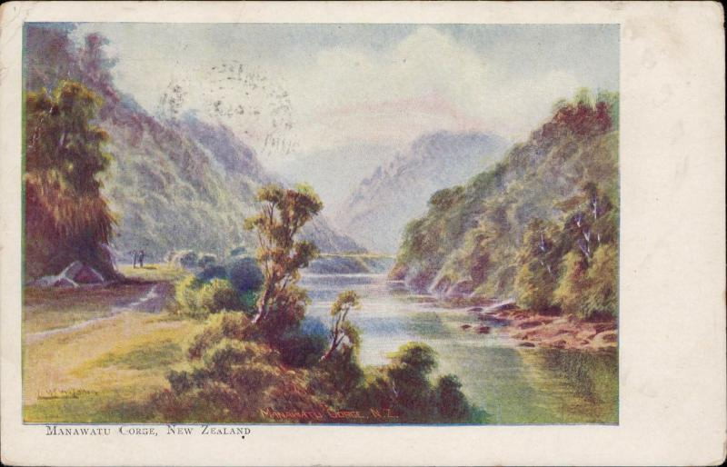 Manawatu Gorge New Zealand