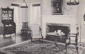 New Jersey Trenton East Side Of Reception Room Old Barracks Artvue
