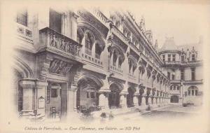 Cour d'Honneur, Une Galerie, Chateau De Pierrefonds (Oise), France, 00-10s