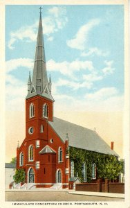 NH - Portsmouth. Immaculate Conception Church