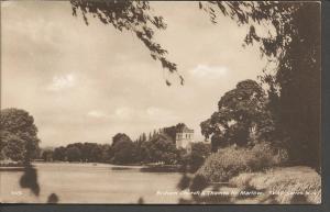 Vintage Postcard BISHAM CHURCH & THAMES Nr MARLOW by TVAP Series M.14 1019