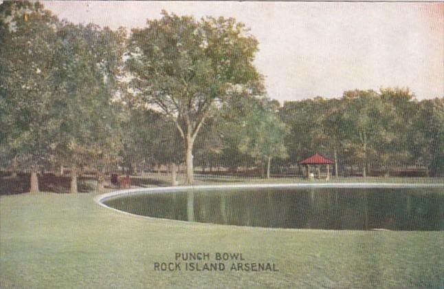 Illinois Rock Island Punch Bowl Rock Island Arsenal