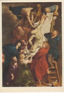 La Deposizione P P Rubens Cattedrale di Anversa