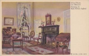 Virginia Arlington Lee Mansion School Room Painting By Ruth Perkins Safford