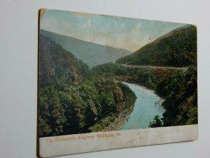 Vintage Packsaddle Allegheny Mountains Pennsylvania Postcard