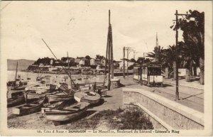 CPA Toulon Le Mourillon ,Boulevard du Littoral FRANCE (1096546)