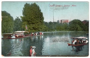 Boston, Mass, Public Gardens