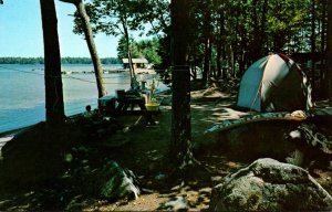 Maine Damariscotta Lake Pemaquid Camping