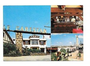 Morroco Casablanca Restaurant Le Cabestan El Hank Lighthouse Multiview Postcard