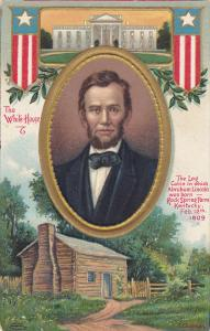 AS: Log Cabin in which President Abraham Lincoln was born, Rock Spring Farm, ...