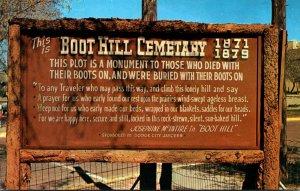 Kansas Dodge City Boot Hill Cemetery