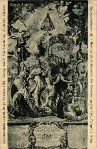 CPA AK Jubilaumsbild vom hl. Berge Andechs 1755 GERMANY (919529)