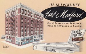 MILWAUKEE , Wisconsin , 1950-60s ; Hotel Medford