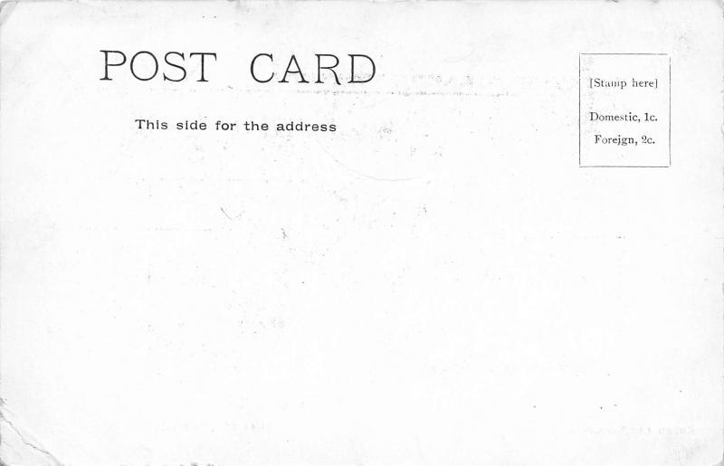 Round The Savannah, Trinidad, Early Postcard, Unused