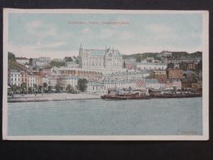 Ireland CORK Queenstown Generial View - Old Postcard