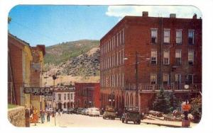 Eureka Street and Teller House in the famous old mining town of Central City,...