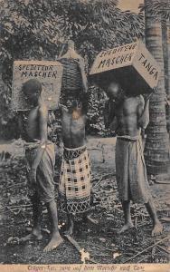 German East Africa Tanzania Tanga Spediteur Mascher Postkarte Postcard