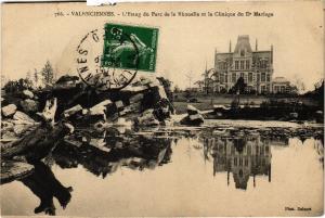 CPA VALENCIENNES - L'Etang du Parc de la Rhonelle et la Clinique du Dr (136771)