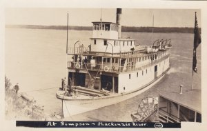 RP: Ferry DISTRIBUTOR , Simpson (Ft Simpson) , N.W.T. , Canada , 1910-20s