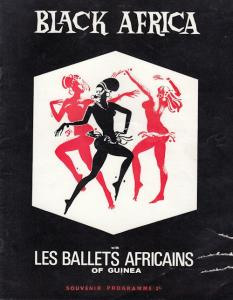 Black Africa Ballet Of Guinea Musical Theatre Programme