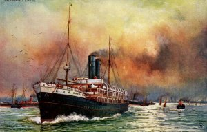 Orient-Pacific Line - RMS Ortona  (Tuck Celebrated Liners)