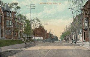 YORK , Pennsylvania, 1900-10s ; Market Street