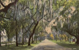 DAYTONA , Florida , 1900-10s ; Ridgewood Avenue, North