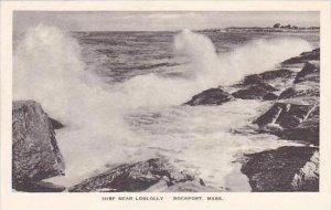 Massachusetts Rockport Surf Near Loblolly Albertype