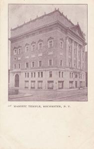 Masonic Temple - Rochester, New York - UDB