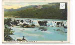 Sandstone Falls on New River, near Hinton, W. Virginia, PU-1931