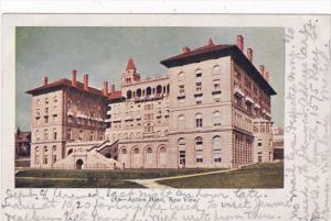 Colorado Colorado Springs The Antlers Hotel Rear View 1905