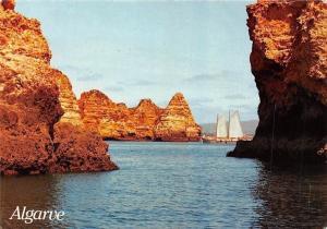 Portugal Algarve Ponta da Piedade Lagos Boat Bateau Panorama