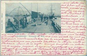 80874  - CARTOLINA d'Epoca - LUCCA  Provincia  - VIAREGGIO  1901