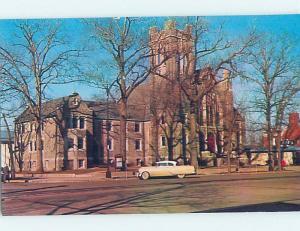 Unused Pre-1980 CHURCH SCENE Vineland New Jersey NJ A7112-22