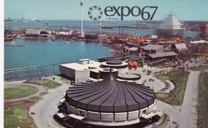 MONTREAL , Quebec, Canada, EXPO67 ; Alcan Pavilion, Alcan Dolphin Pool # 2