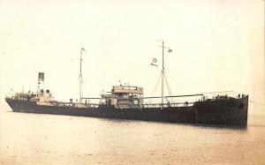 Steamship San Valerio RPPC Postcard