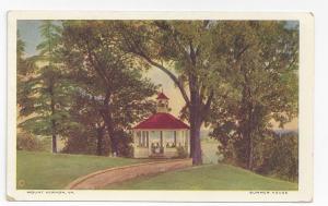 Mount Vernon VA Summer House ca 1925 Postcard