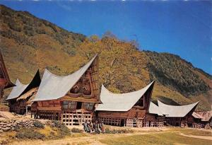 Indonesia Batak Traditional House Samosir Island