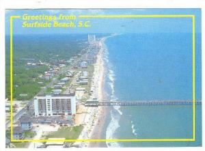 Scenic Greetings from Surfside Beach, South Carolina, 50-60s